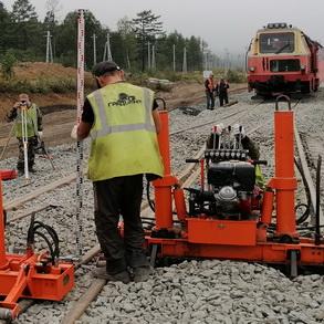 Строительство железнодорожной инфраструктуры
