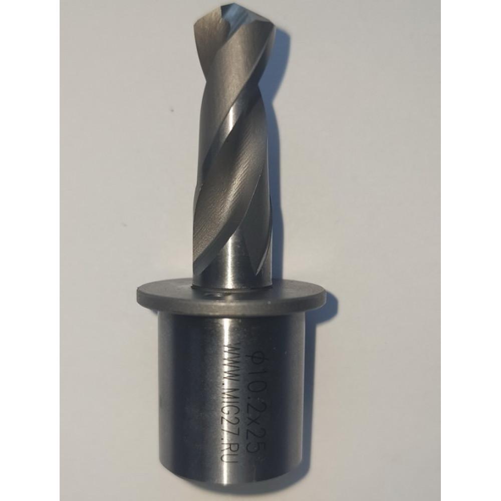 Сверло рельсовое спиральное D10.2x25